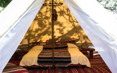 The Fabulous Glamping Tents at Podere di Maggio